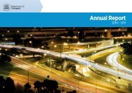 Department of Transport Annual Report 2010 - 2011
