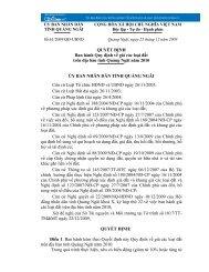 QUYẾT ĐỊNH Ban hành Quy định về giá các loại đất ... - DiaOcOnline
