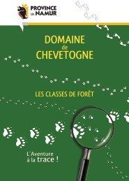 Les classes de forêt - Domaine Provincial de Chevetogne