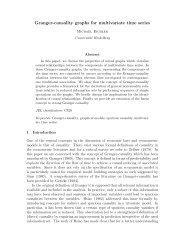 Granger-causality graphs for multivariate time series - StatLab ...