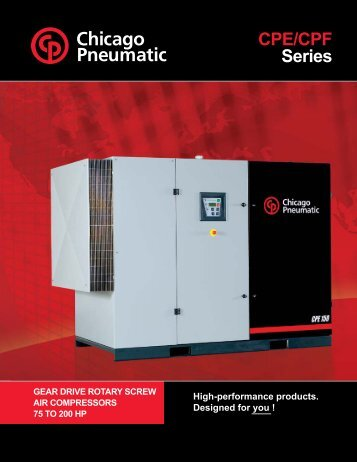 CPE/CPF Series - Compressed Air Equipment