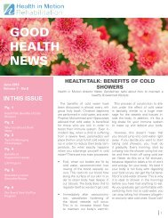 Good Health News - June 2015