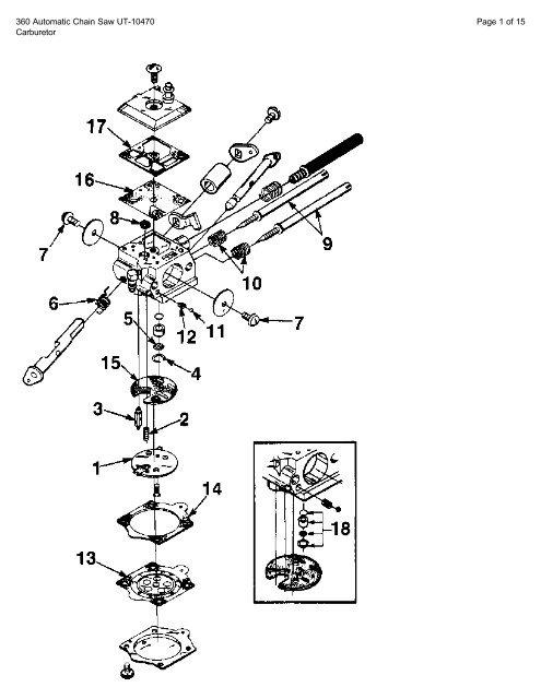 Generac Engine Parts Diagram