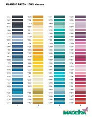 to view a Madeira Classic Colour Card.