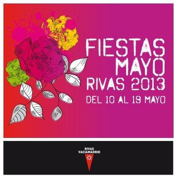 Folleto Fiestas 2013 - Ayuntamiento Rivas Vaciamadrid