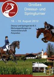 Turnier 2012 - RVO Thann