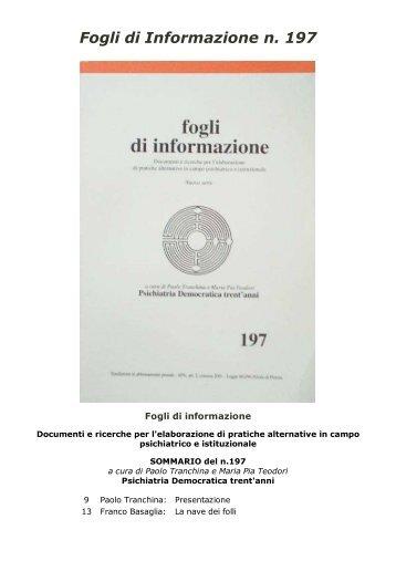 197 - Centro documentazione Pistoia