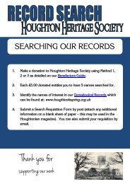 Search Requisition Form - Houghton-le-Spring