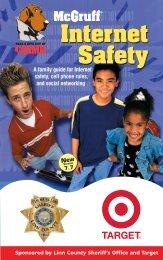 Internet Safety Internet Safety - McGruff the Crime Dog