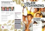 under utdanning - Pedagogstudentene