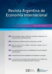 Revista Argentina de Economía Internacional - Número 4