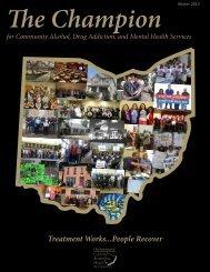 Winter 2013 Volume I - Ohio County Behavioral Health Authorities
