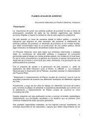 PLANES LOCALES DE JUVENTUD - Inicio - Injuv