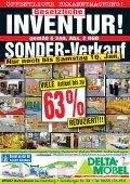 63%Inventur-RABATT - bei DELTA-Möbel - Seite 2