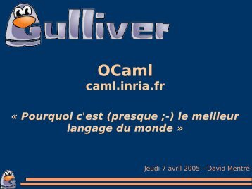 caml.inria.fr - Linux-France