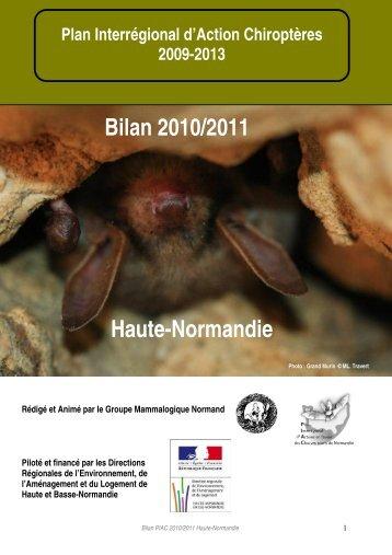 Bilan PIAC HN 2010-2011 - DREAL Haute-Normandie