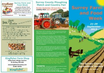 here - Surrey County Agricultural Society