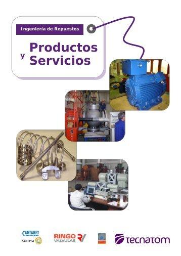 Catálogo de productos - Tecnatom