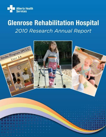 2010 Research Annual Report - Alberta Health Services