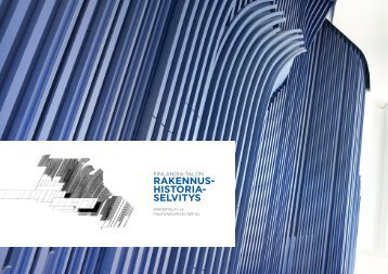 Rakennsuhistoriaselvitys - Finlandia-talo