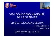 XXVI CONGRESO NACIONAL DE LA SEAP-IAP