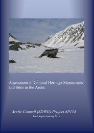 Arctic Council Report 2012 - International Polar Heritage Committee