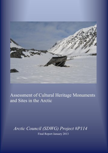 Arctic Council Report 2012 - International Polar Heritage Committee