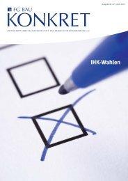 FG Bau Konkret - Ausgabe Nr. 02 / April 2012 - Fachgemeinschaft ...
