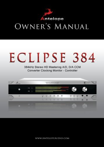 Eclipse_384_Owners_Manual