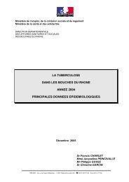 Rapport 2004 - Principales données épidémiologiques - ARS Paca