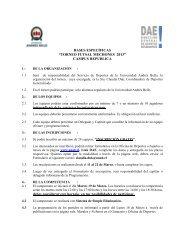 Descarga las bases del torneo - Noticias Universidad Andrés Bello