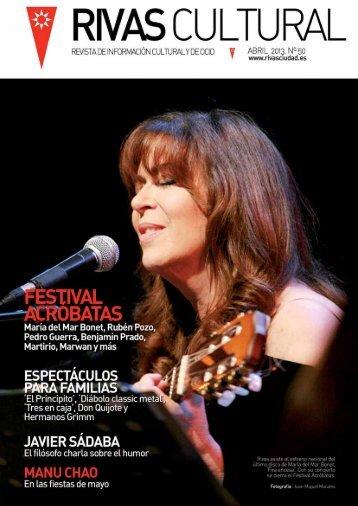 Rivas Cultural Nº50 abril 2013 revista
