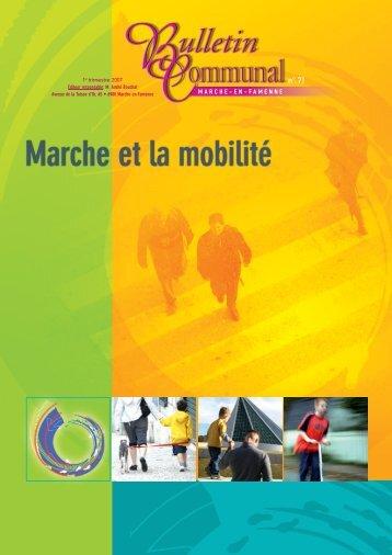 et la mobilité - Marche-en-Famenne