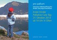Download Flyer Erster Kinder Palliative Care Tag, 31 ... - pro pallium
