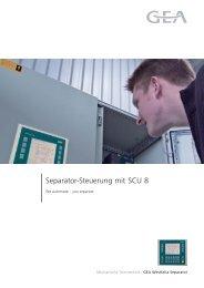 Separator-Steuerung mit SCU 8 - GEA Westfalia Separator