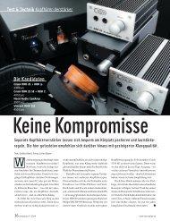 Der OBH-21SE besticht mit unmittelbarer Musikalität - Projekt Akustik