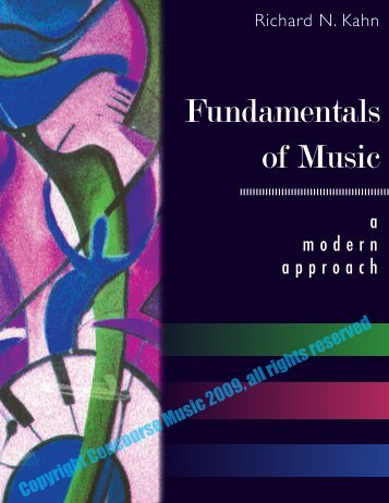 Fundamentals of Music: A Modern Approach - Richard Kahn Music