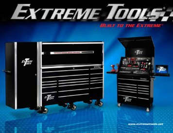 and roller cabinet - Extreme Tools