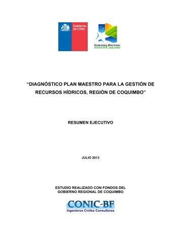 diagnóstico plan maestro para la gestión de recursos hídricos ...