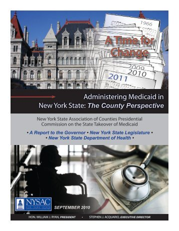 A Time for Change - New York State Association of Counties