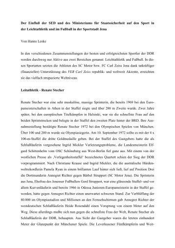 Dr. Hanns Leske - Geschichtswerkstatt Jena eV