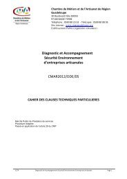 2012_Diagnostic cahier des charges - la cmar