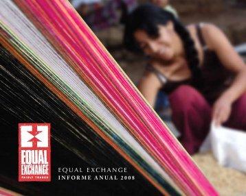 Informe Anual 2008 - Equal Exchange