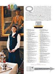 Condé Nast Traveler November 2008 Top 100 ... - Auberge du Soleil