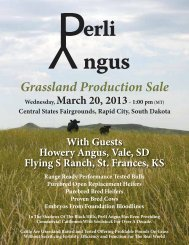 Grassland Production Sale - Brubaker Sales and Marketing