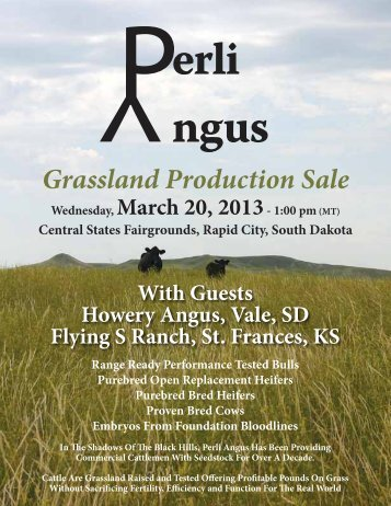 Grassland Production Sale - Brubaker Sales and Marketing