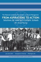 Download From Aspirations to Action here. - The Leadership ...