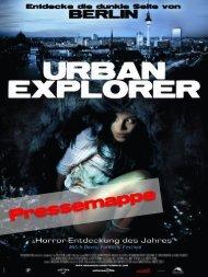 Pressemappe - Urban Explorer