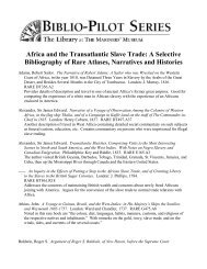 Africa and the Transatlantic Slave Trade - Mariners' Museum
