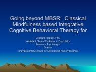 See Dr. Rapgay's slide show (pdf 660 KB)